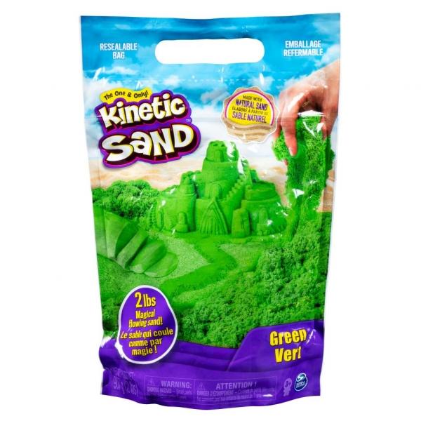 Kinetic Sand: Piasek kinetyczny żywe kolory - zielony (6046035/20107735)