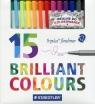 Cienkopis Triplus 15 kolorów