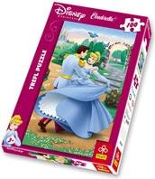 Puzzle 100 Kopciuszek Cinderella 16112