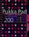 Kołozeszyt A5 Pukka Pad Dots projektowy w kratkę 200 stron niebieski