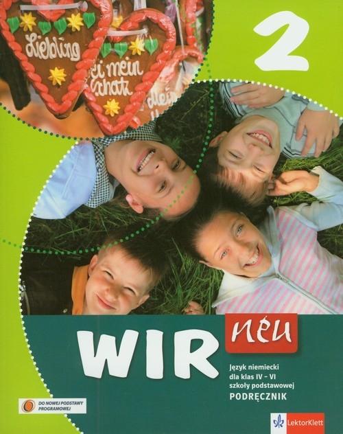 Wir neu 2 Język niemiecki Podręcznik z płytą CD Motta Giorgio