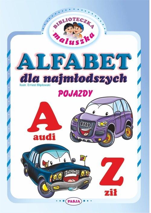 Alfabet dla najmłodszych Pojazdy Błędowski Ernest