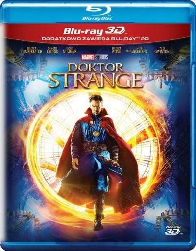 Doktor Strange (2 Blu-ray) 3D Scott Derrickson