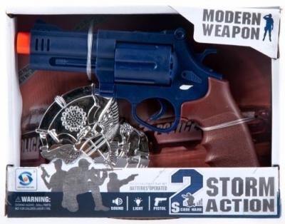 Zestaw policyjny z bronią (461320)