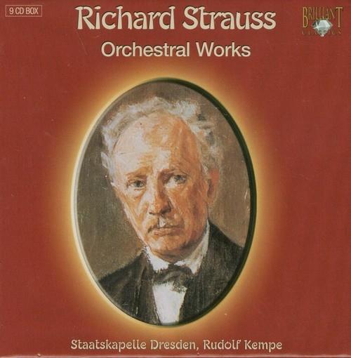 Strauss: Orchestral Works Staatskapelle Dresden, Rudolf Kempe