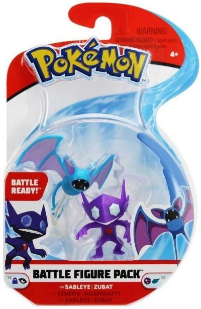 Pokemon Battle mini - Sableye + Zubat 95012