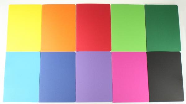 Zeszyt Rainbow B5/96k w kratkę mix (9560129)