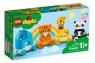 Lego Duplo: Pociąg ze zwierzątkami (10955)Wiek: 18m+