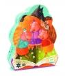 Puzzle postaciowe Trzy Małe świnki (DJ07212)