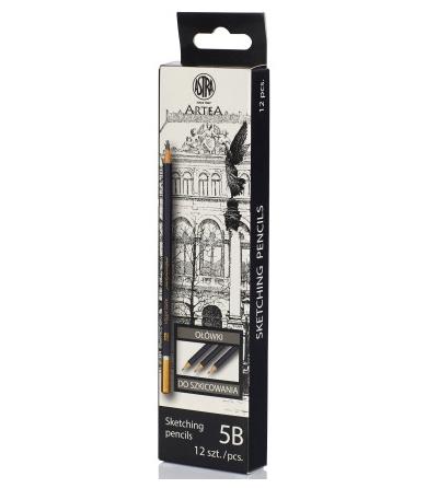 Ołówek do szkicowania 5B Astra Artea (206118006)
