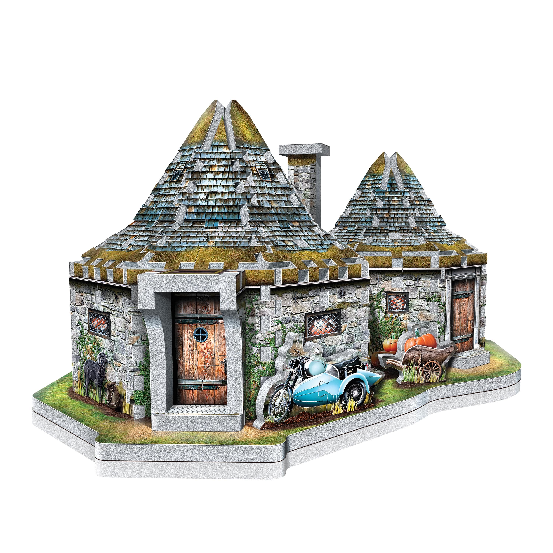 Puzzle 3D: Harry Potter - Hagrid's Hut (W3D-0512)