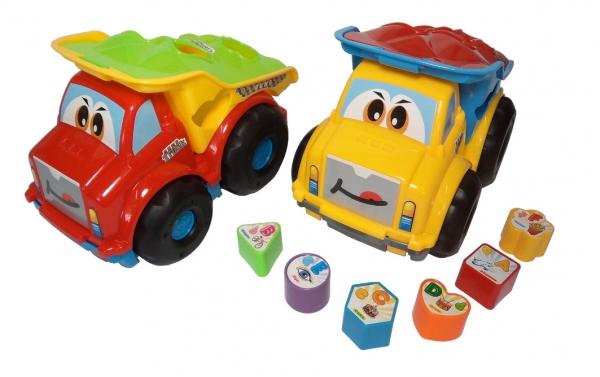 Ciężarówka z klockami