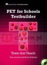 PET for Schools Testbuilder SB +Audio CD