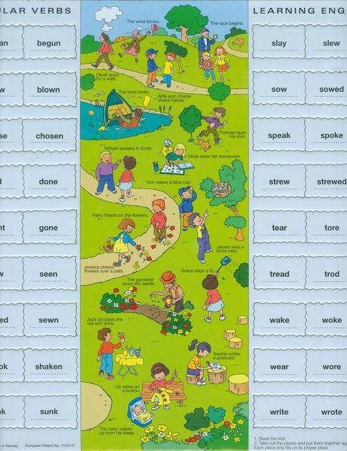 Nauka Angielskiego Puzzle Lekcja 12