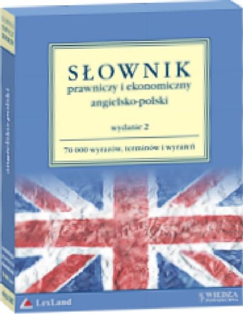 Słownik prawniczy i ekonomiczny angielsko-polski Jaślan Janina , Jaślan Henryk