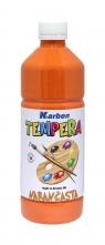 Farba tempera w butelce Karbon pomarańczowa 550ml