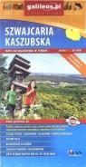 Mapa turystyczna - Szawjcaria Kaszubska 1:50 000