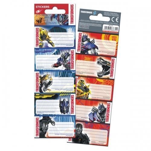Naklejki na zeszyt Transformers