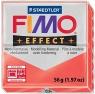 Masa termoutwardzalna Fimo effect czerwona przeźroczysta (S 8020-204)