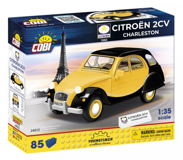 Cobi, Youngtimer Collection: Citroen 2CV Charleston (24512)
