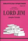 Biblioteczka Opracowań Lord Jim Josepha Conrada