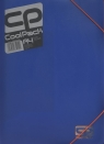 Teczka z gumką A4 Cool Pack Blue Neon