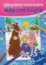 Zgadywanko-kolorowanki Magiczne święta + naklejki