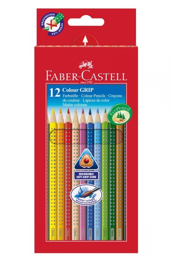 Kredki Faber-Castell Grip 2001 12 kolorów (112412)