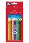 Kredki Grip 2001 Faber-Castell, 12 kolorów (112412 FC)