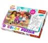 Puzzle 40 elementów Color Dora i przyjaciele (36512)