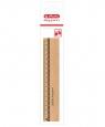 Linijka drewniana my.pen 17 cm