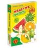 Karty Piotruś - Warzywa i Owoce (26122) Wiek: 4+