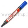 Marker gigant perm.niebieski ściety