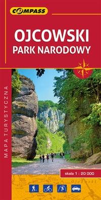 Ojcowski Park Narodowy mapa laminowana