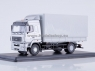 MAZ-5340 Flatbed Truck with Tent (facelift) (grey) (SSM1212)