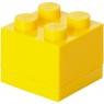LEGO, minipudełko klocek 4 - Żółte (40111732)