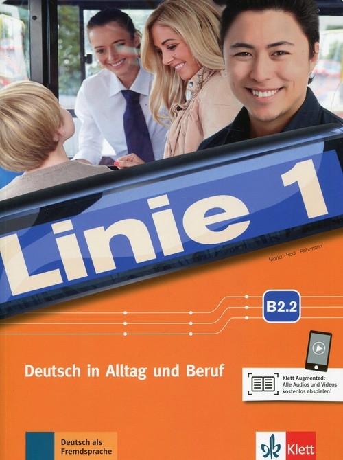 Linie 1 B2.2 Podręcznik i ćwiczenia Audio i Video online
