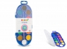 Farby akwarelowe Primo w pastylkach - 12 kolorów + pędzelek (112A12SG)