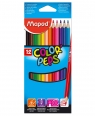 Kredki ColorPeps trójkątne 12 kolorów