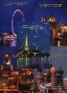 Brulion B5 Top-2000 w kratkę 192 kartki Miasta mix