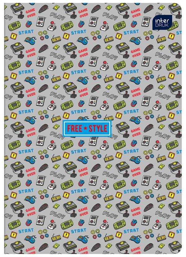 Zeszyt A5/32 kartkowy w kratkę - kolekcja 403B Boys