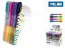 Długopis Milan Sway Combi Duo - zestaw 5 sztuk w etui (176584905)