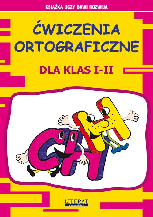 Ćwiczenia ortograficzne dla klas 1-2 CH - H Guzowska Beata, Smaza Anna