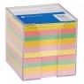 Kubik plastikowy duży, kolorowe karteczki 85x85mm (130534)