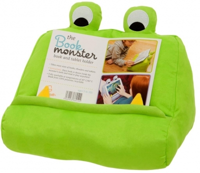 Podstawka pod książkę/tablet - Bookmonster green
