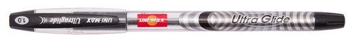 Długopis Unimax Ultra Glide czarny 12 sztuk