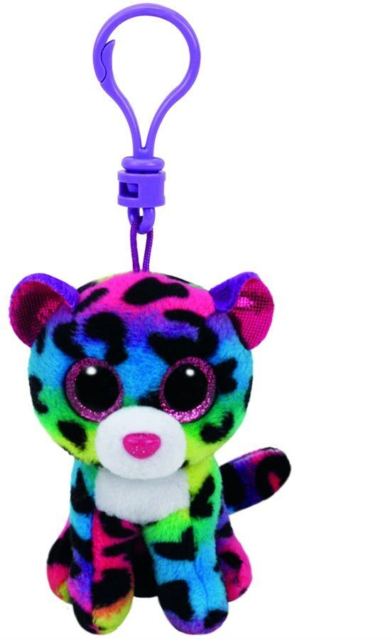 Maskotka brelok Beanie Boos Dotty - Kolorowy leopard (TY 35012)
