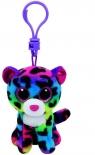 Maskotka brelok Beanie Boos Dotty - Kolorowy leopard (35012)