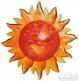 Puzzle 3D Słońce (1124)
