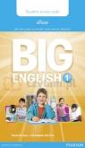 Big English 1 Pupil eText AccessCodeCard